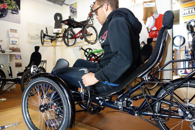 Test trike with Firmin