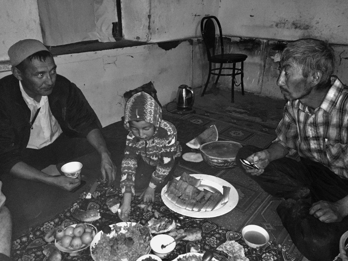 Un repas offert avec le coeur