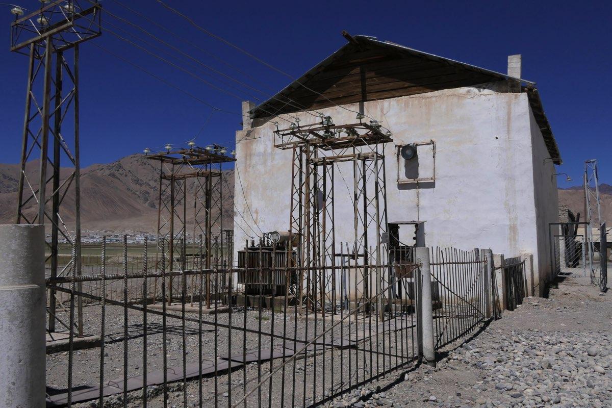 Centrale hydraulique de Murghab