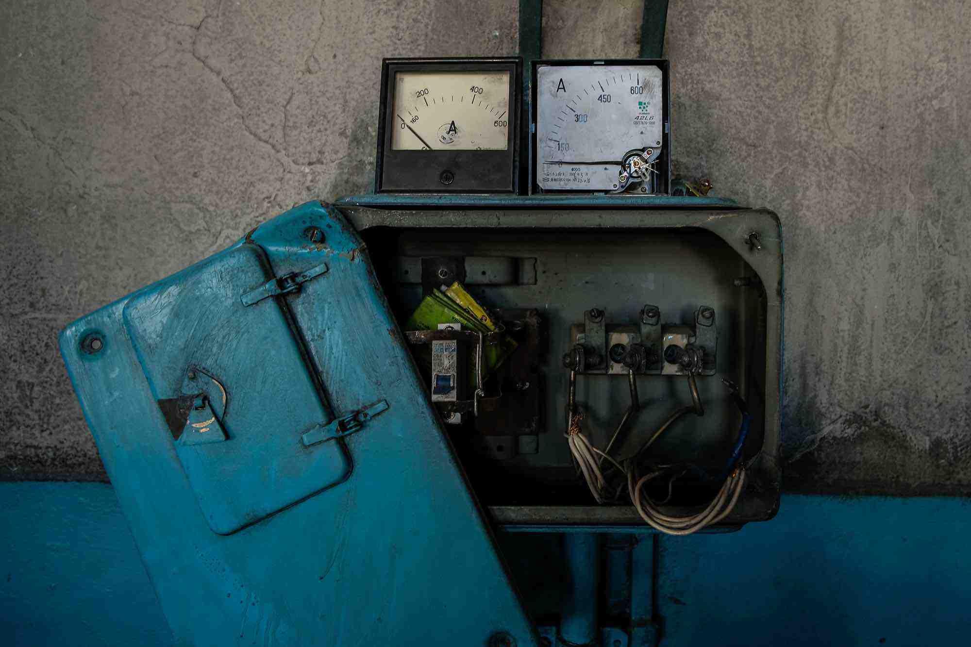 El panel eléctrico Murghab