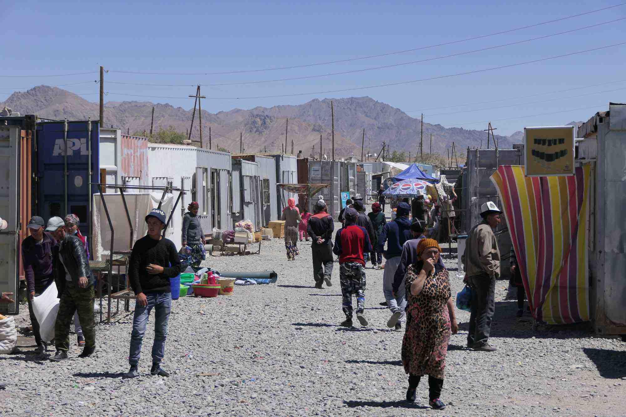 Le marché container de Murghab
