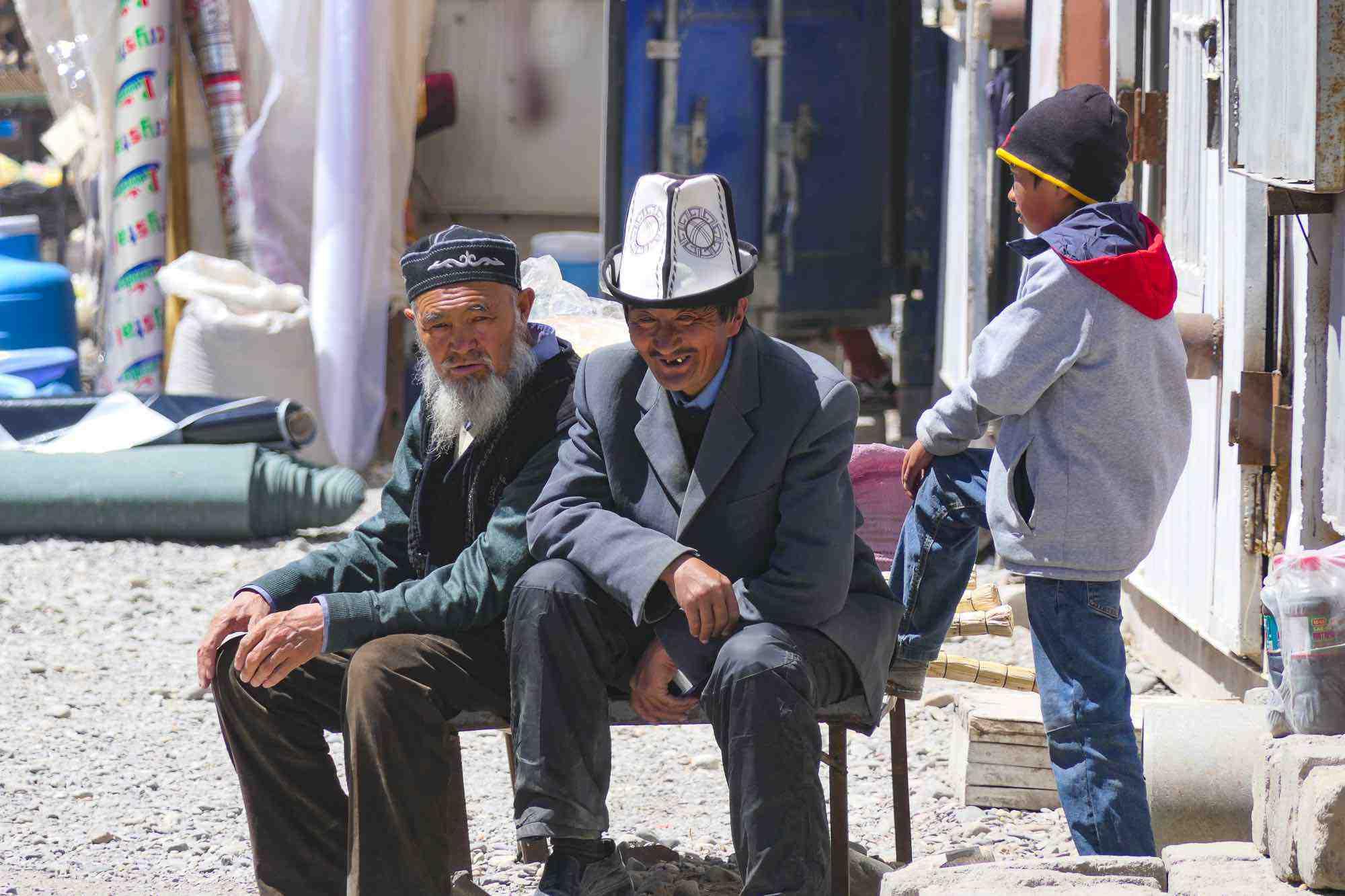 Habitants de Murghab