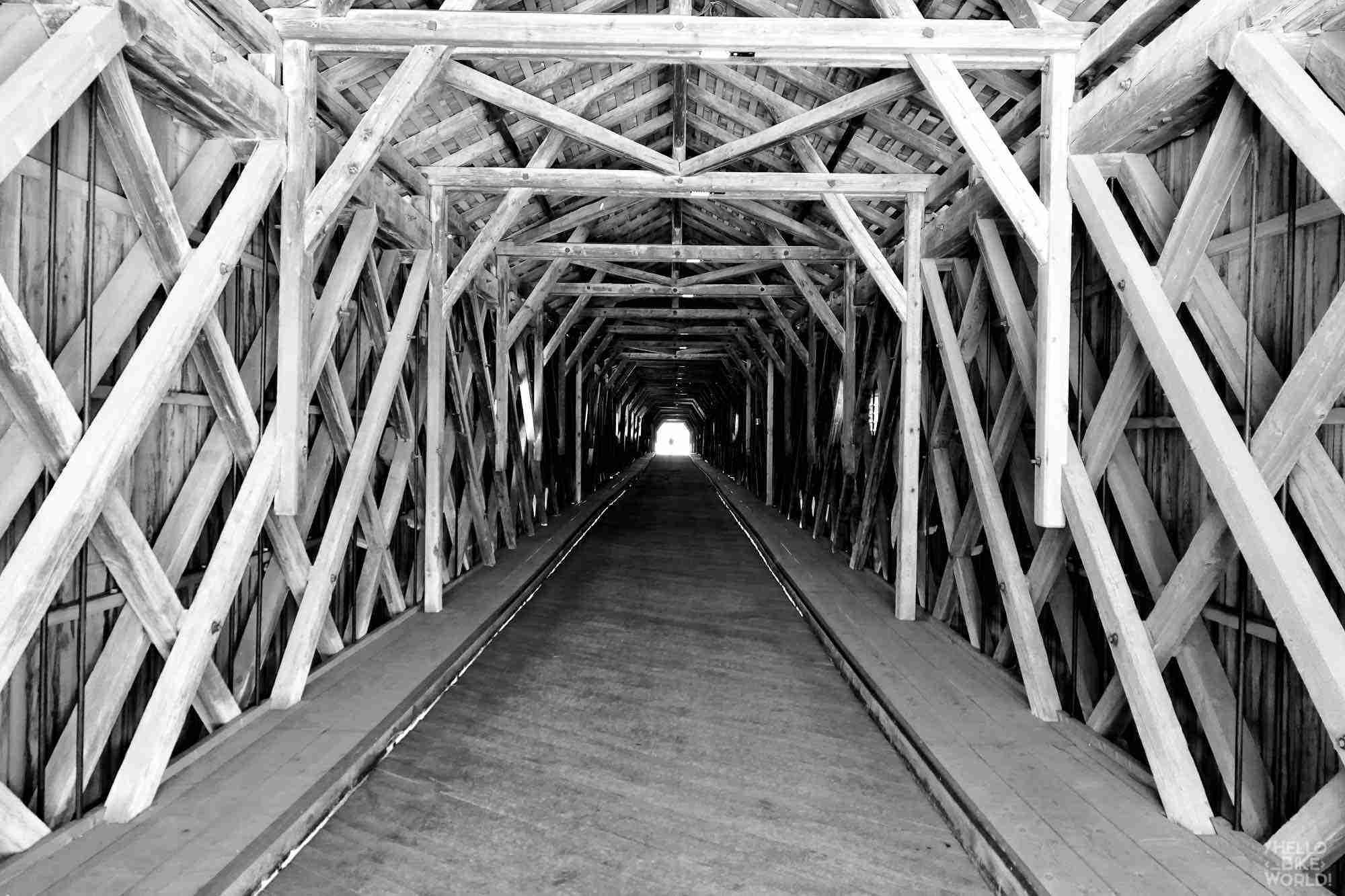 Le pont entre la Suisse et le Liechtenstein