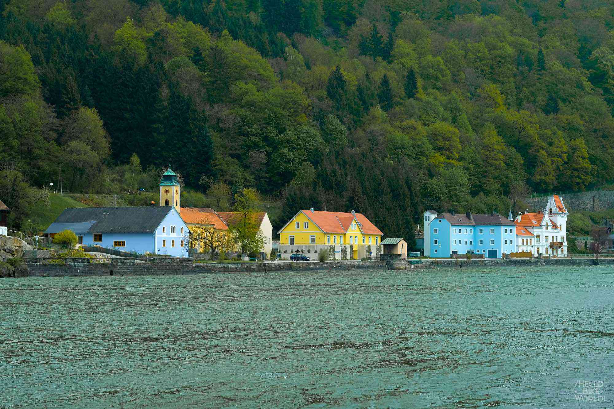 Au bord du Danube en Autriche
