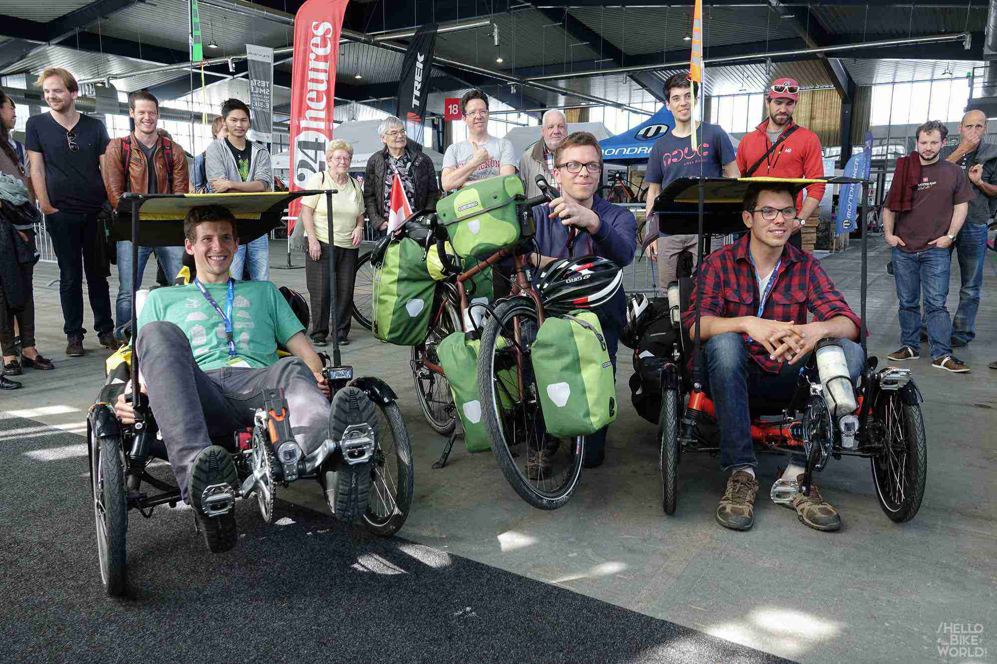 Départ du salon du vélo le 1er avril à Lausanne