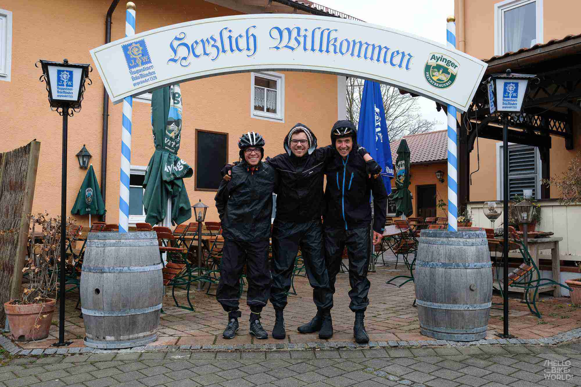 Keeping regt aus einem guten deutschen Restaurant