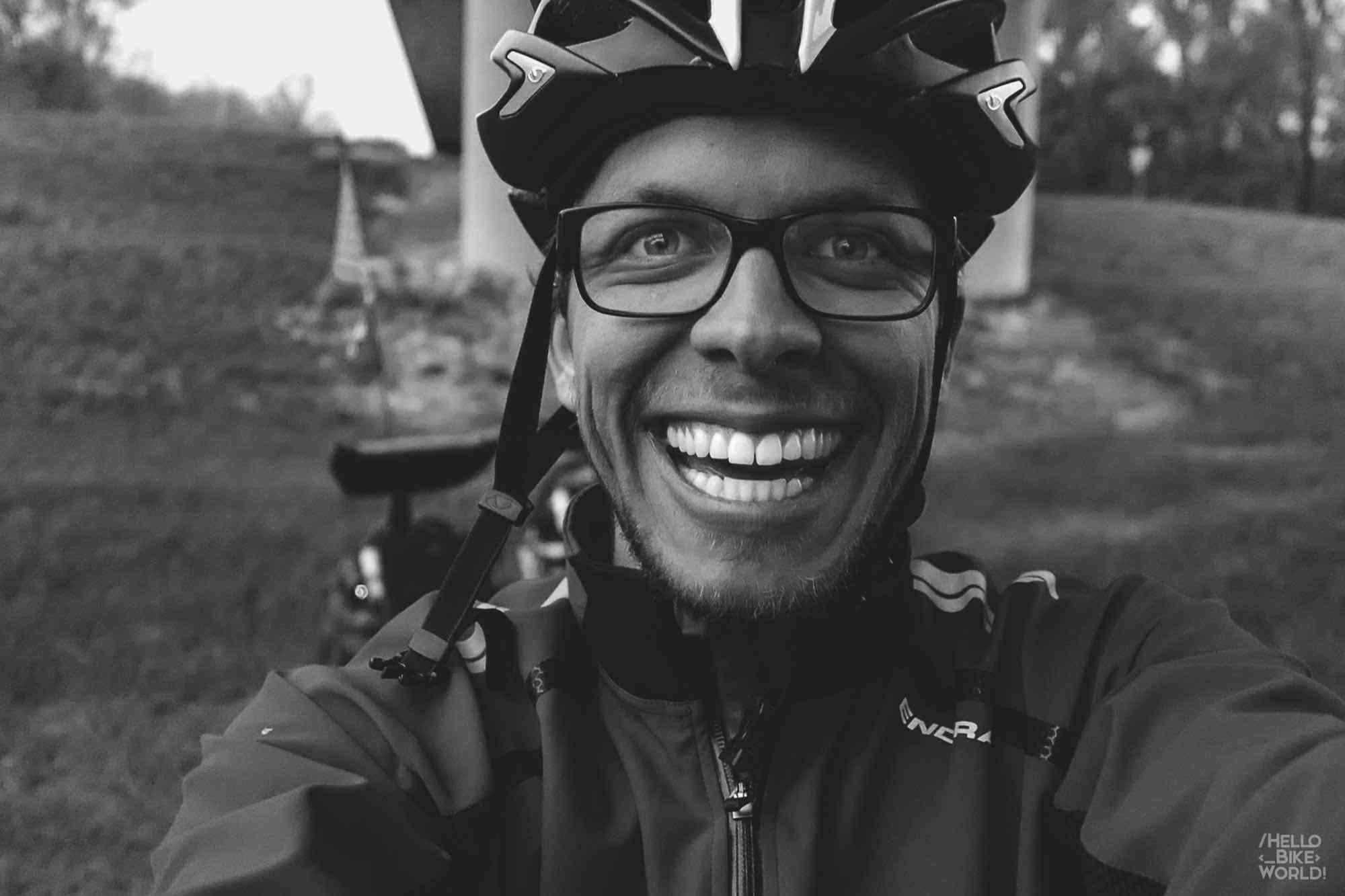 Firmin, glücklich Radfahrer