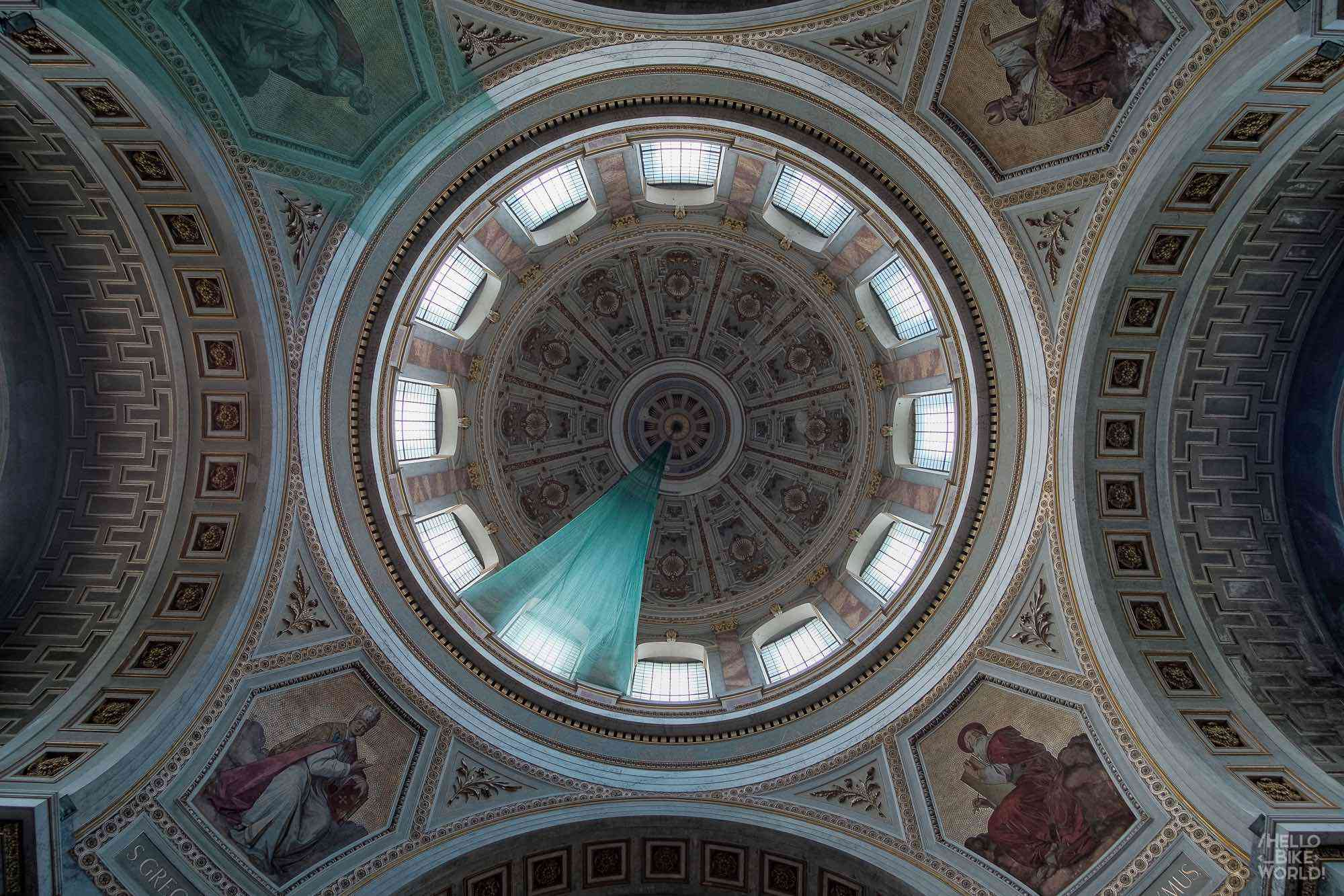 Inside the dome Esztergom