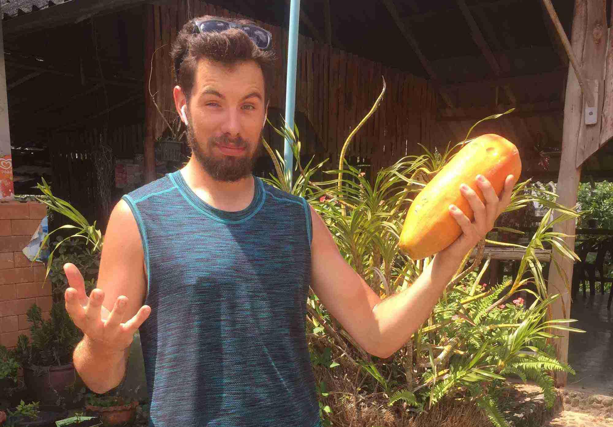La papaye du bonheur
